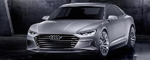 The Audi prologue show car- launching into a new design era