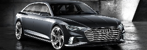 Sporty and elegant, versatile and connected – the Audi prologue Avant show car