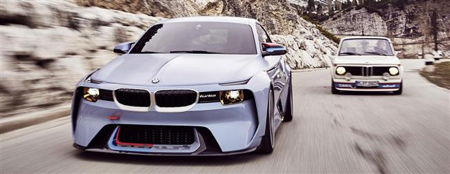 BMW 2002 Hommage. 50 years of pure driving pleasure