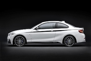 Supreme sporty flair in M style: BMW M Performance parts for the BMW 2 Series Coupé.