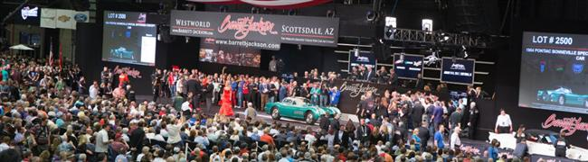 Barrett-Jackson Reaches Historic Highs For Sales, Crowds And Celebrity Appearances In Scottsdale