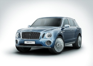 Bentley Reveals EXP 9 F - A Pinnacle Luxury Performance SUV Design Concept