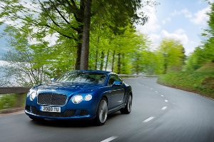 Bentley Motors' North American Debuts