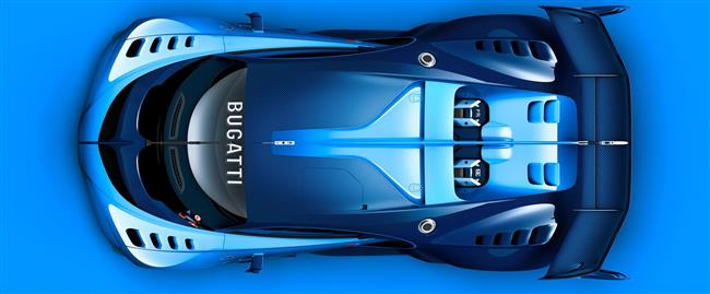 World Premiere At Frankfurt Motor Show 2015: 'This Is For The Fans' Bugatti Unveils Its Vision Gran Turismo Show Car