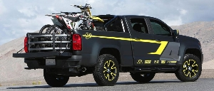 Chevy Colorado Performance Concept Enables Adventure