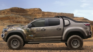 Mission-Ready Chevrolet Colorado ZH2 Fuel Cell Vehicle Breaks Cover At U.S. Army Show