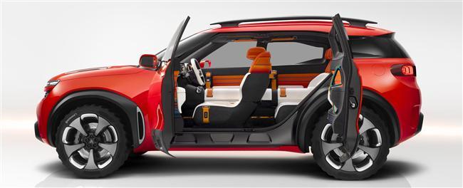 The Citroen Aircross Concept