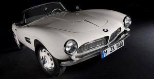 The Perfect Stage For Elvis's BMW 507 And Other Legends From The Last 100 Years