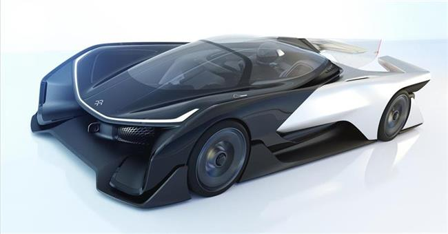 Faraday Future Reveals Modular Platform Technology, A High Performance Concept Vehicle