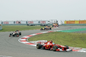 Chinese GP - Without speed and traction you don't go far
