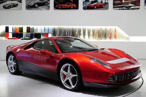 New stylistic notes for Ferrari: the SP12 EC is born. EC like Eric Clapton