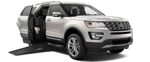 BraunAbility MXV -- A Ford Explorer Conversion -- Is World's First Wheelchair-Accessible SUV