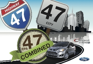Ford C-MAX Hybrid Earns 47 City, 47 Highway, 47 Combined