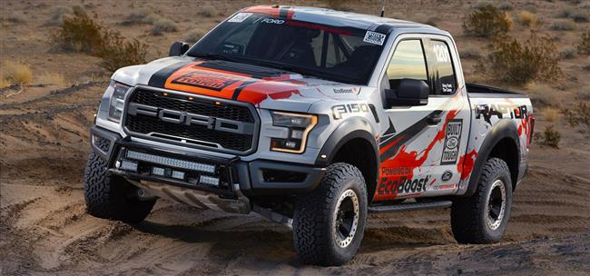 Best In The Desert: 2017 Ford F-150 Raptor Prepares For Grueling Off-Road Racing Series
