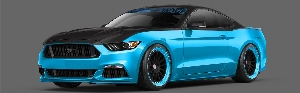 Ford And Petty's Garage Team Up To Build Limited-Edition Mustang Gt