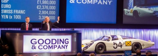 Gooding & Company's Amelia Island Auction Brings $30.9 Million in 2014