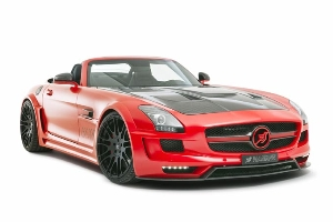 HAMANN HAWK Roadster – Attractive deluxe convertible with 636 PS