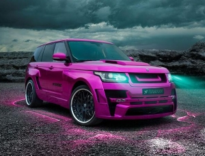 Stylish and bursting with power: HAMANN dresses up the Range Rover and turns it into the 'MYSTÈRE'