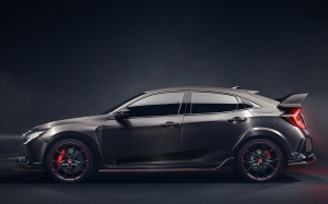 New Civic Type R Prototype Unveiled At 2016 Mondial De L'automobile In Paris