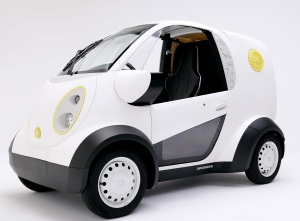 Honda And Kabuku Inc. Unveil 3D Printed Micro Commuter Vehicle At CEATEC
