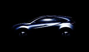 HONDA COMPACT 'URBAN SUV CONCEPT' TO MAKE WORLD DEBUT AT THE 2013 NORTH AMERICAN INTERNATIONAL AUTO SHOW