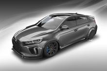 Hyundai Joins Forces With Bisimoto Engineering To Create 'Hypereconiq Ioniq' Concept
