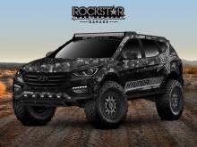 Hyundai Rockstar Energy Moab Extreme Off-Roader Santa Fe Sport Concept