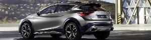 First Image Release Of Strong And Stylish Infiniti QX30 Concept
