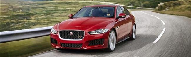 World Premiere of Jaguar XE at London's Earls Court