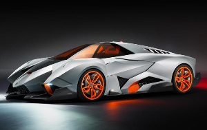 LAMBORGHINI EGOISTA  WALTER DE SILVA'S HOMAGE FOR LAMBORGHINI'S 50TH ANNIVERSARY