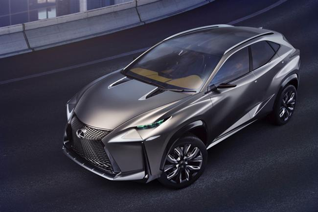 Lexus LF-NX Turbo Advanced Crossover Concept
