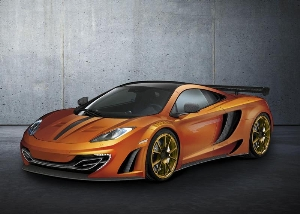 Spectacular super-sports car - MANSORY customises the McLaren MP4-12C