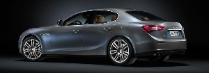 World debut for the Ghibli Ermenegildo Zegna Edition Concept at Paris Motor Show