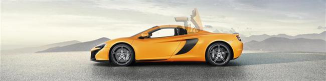 Open-Top Mclaren 650S Spider Joins 650S Coupé In Geneva Global Debut