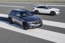 Mercedes-AMG GLC 63 4MATIC+ and GLC 63 4MATIC+ Coupé: Mercedes-AMG combines Performance SUV with V8 expertise