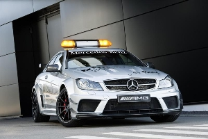 C 63 AMG Coup Black Series provides for safety in the DTM