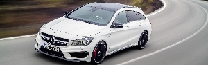 The new Mercedes-Benz CLA 45 AMG Shooting Brake: Avantgarde meets Driving Performance