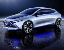 Mercedes-Benz Concept EQA Show Car