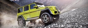 Mercedes-Benz G550 4x4² to roll out in US market by early 2017