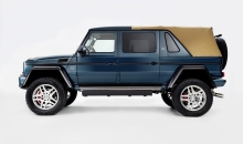 Strictly Limited: Open-Air Luxury Both On- And Off-Road The New Mercedes-Maybach G 650 Landaulet