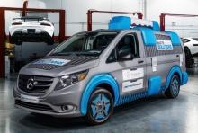 The Mercedes-Benz Metris MasterSolutions Toolbox Concept Showvan