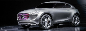 Mercedes-Benz Vision G-Code: SUC study from Asia for Asia - Shaper of the future