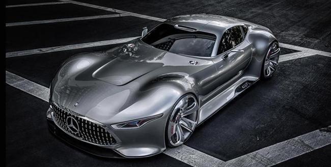 Mercedes-Benz presents a visionary super sports car - Exquisite virtual reality: Mercedes-Benz AMG Vision Gran Turismo