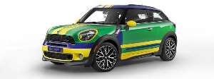 MINI shoots and scores: The MINI Paceman GoalCooper