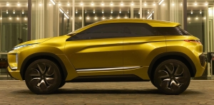 Mitsubishi Motors Hints To The Future With eX Concept At Los Angeles Auto Show