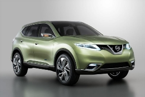 Hi-Cross Concept explores how one member of Nissan's next generation crossovers could look... and how it might be powered
