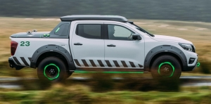Nissan Navara Enguard Concept: The Ultimate All-Terrain Rescue Pick-Up With Portable EV Battery Power