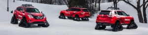 Nissan Unleashes Trio Of Aggressive 'Winter Warrior' Concepts