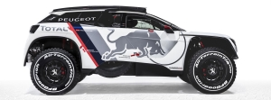Brand New Peugeot 3008 DKR Ready For Dakar Challenge