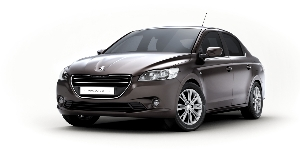 The new Peugeot 301 A compact four door saloon for the international market